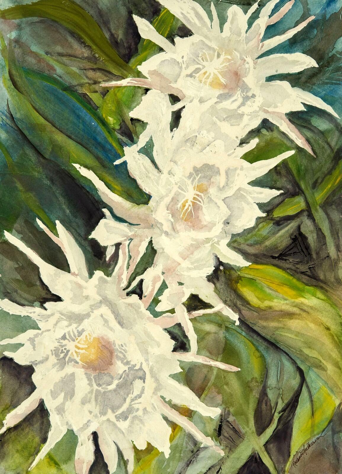 Night Blooms - Roxanne Fulkerson